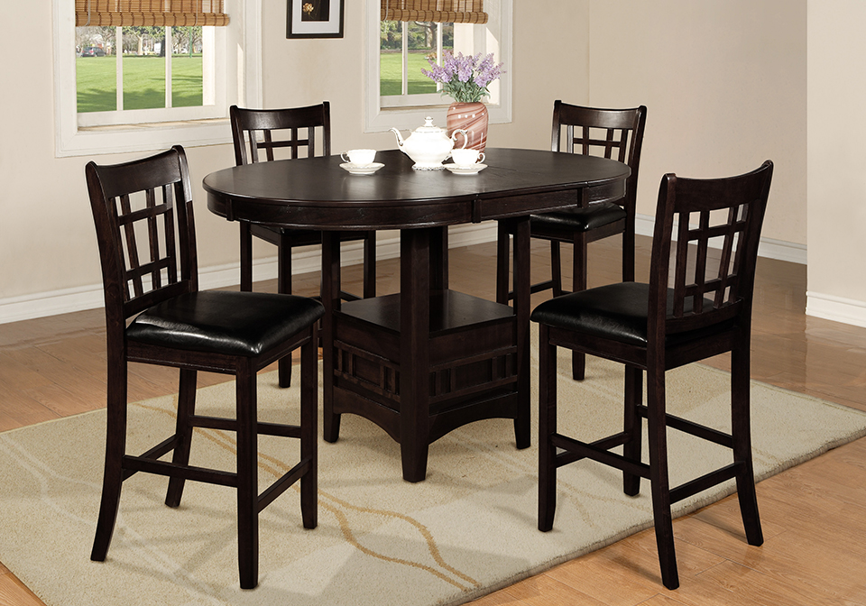 Hartwell Counter Height Dining Table And 4 Side Chairs