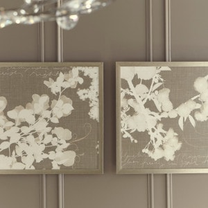 Baibre Cream/Taupe Wall Art Set