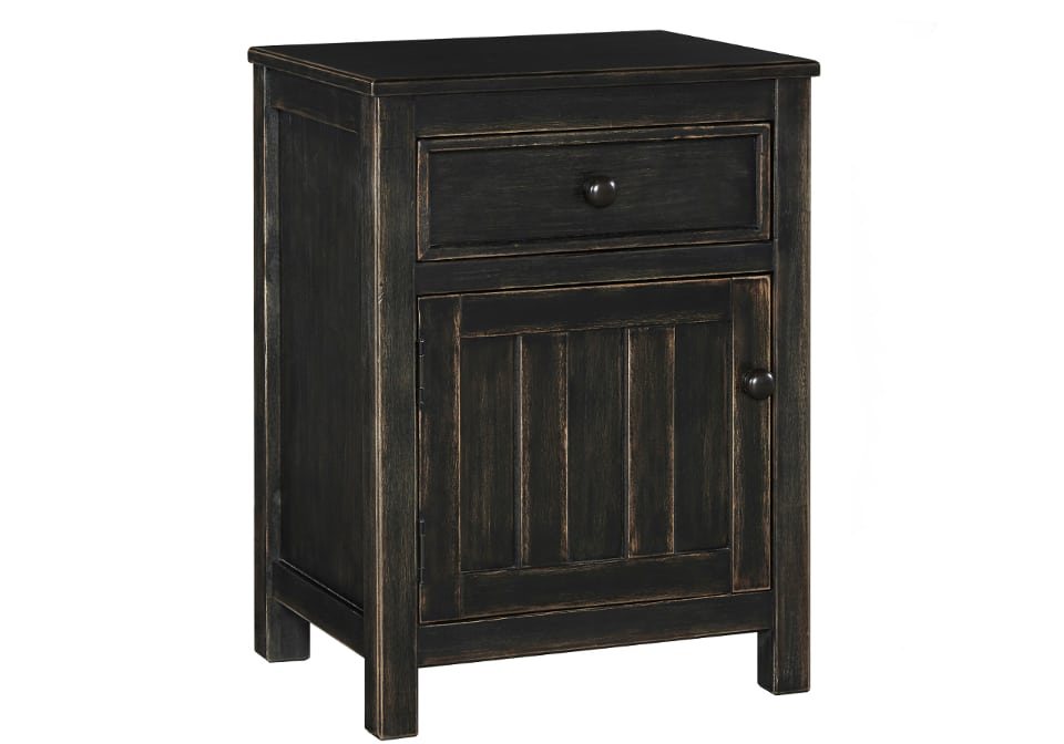 Jaysome Black Night Stand Louisville Overstock Warehouse