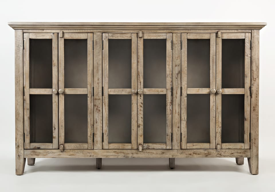 Rustic Shores Watch Hill Weathered Grey 70 Quot Accent Cabinet