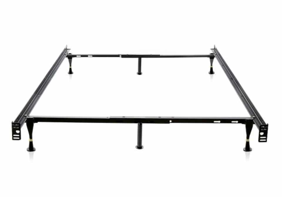 adjustable fulltwin bedframe with gliders - Twin Bed Frames Cheap