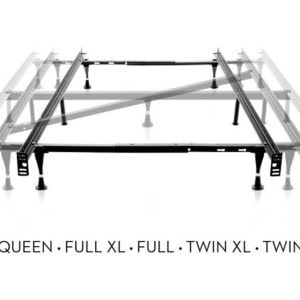 MLF-ST5033BF Adjustable Queen_Full_Twin Bedframe With Wheels4