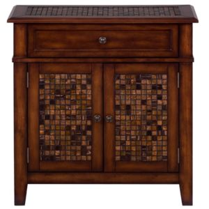 JF-698-13-Baroque-Brown-Accent-Cabinet-With-Mosaic-Tile-Inlay1