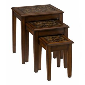 JF-698-7-Baroque-Brown-Nesting-Tables-With-Mosaic-Tile-Inlay1