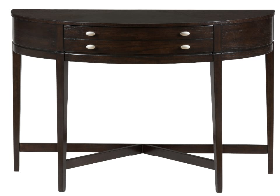 Kent county miniatures demilune sofa table louisville for 10 inch sofa table