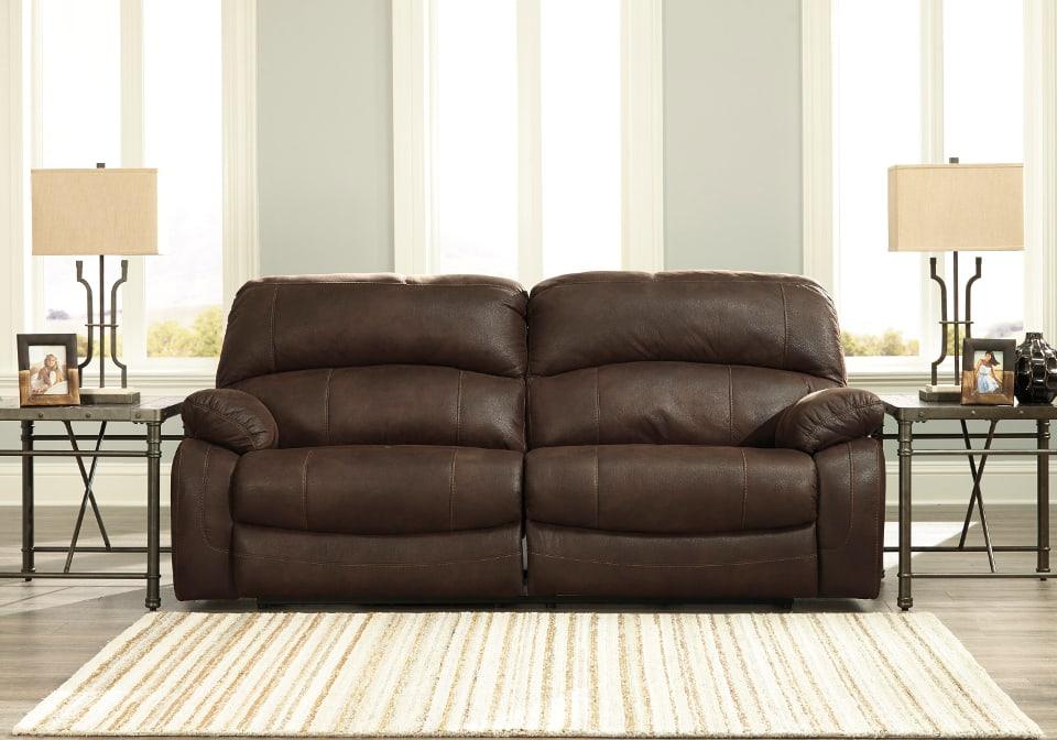 Zavier Truffle 2 Seat Reclining Power Sofa Set