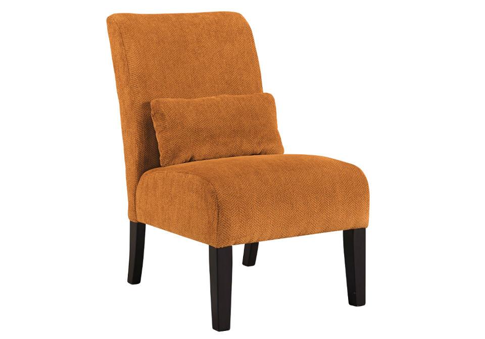 Annora Orange Accent Chair Louisville Overstock Warehouse
