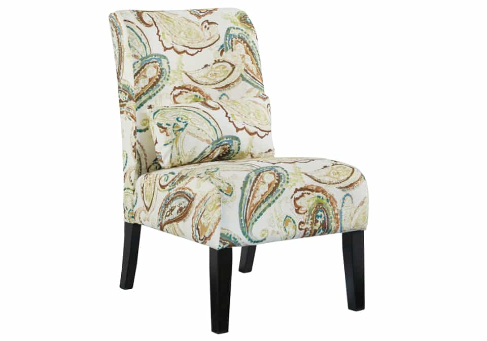 Annora Paisley Accent Chair Louisville Overstock Warehouse