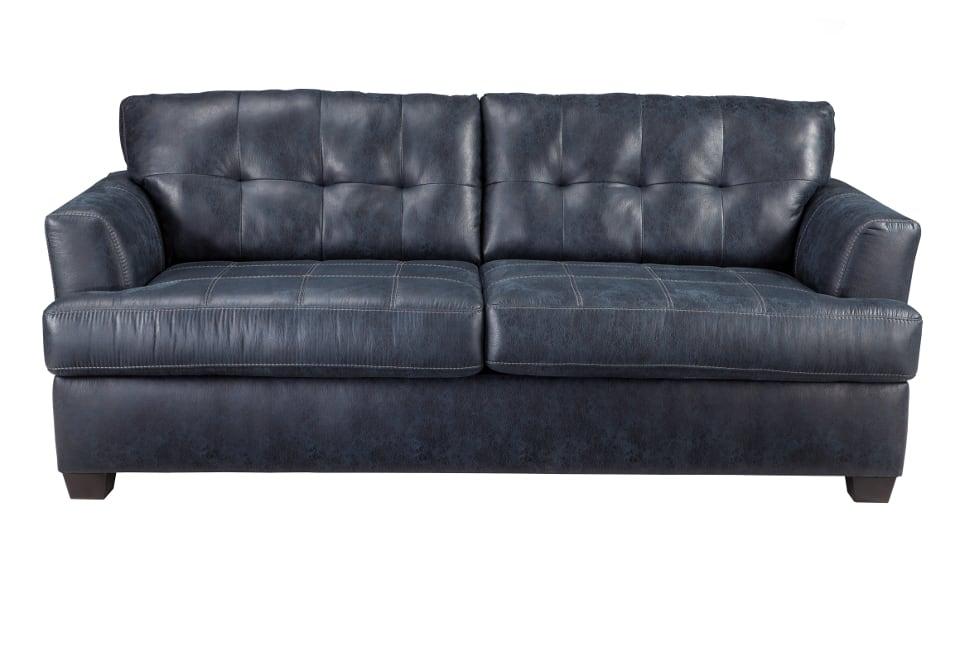 Inmon Navy Sofa Louisville Overstock Warehouse