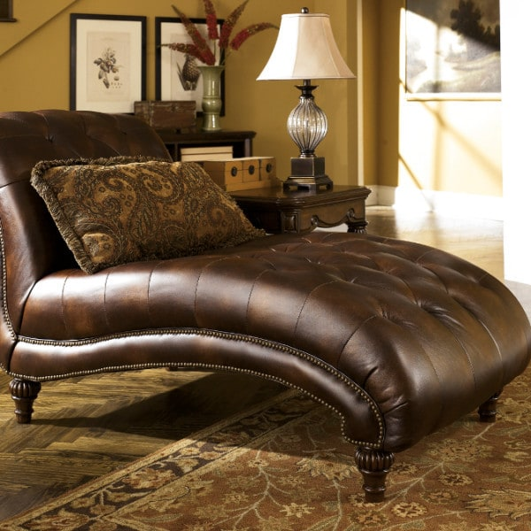 Claremore antique chaise louisville overstock warehouse for Chaise antique furniture