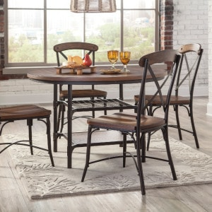 AF-D405-15-01 Rolena Dining Set With 4 Chairs