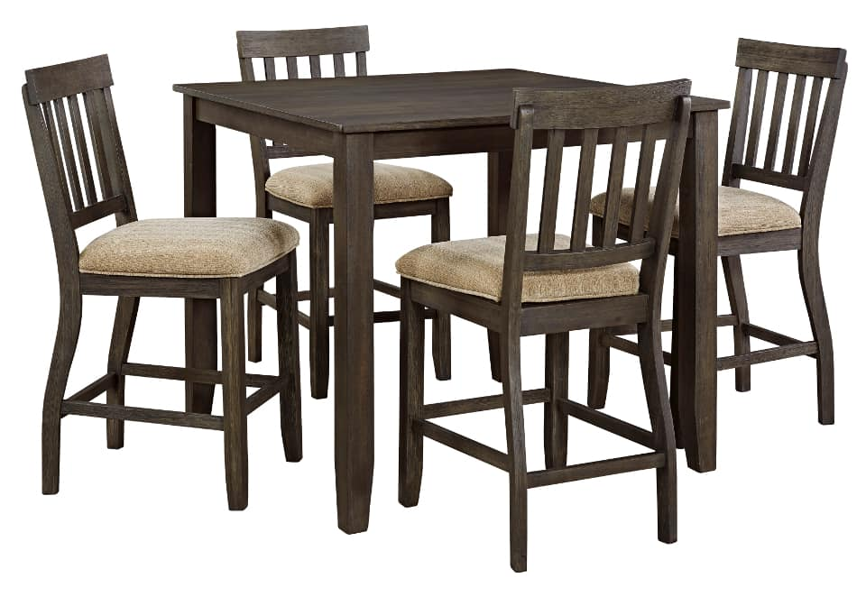 counter height dining set with 4 chairs home shop dining room counter