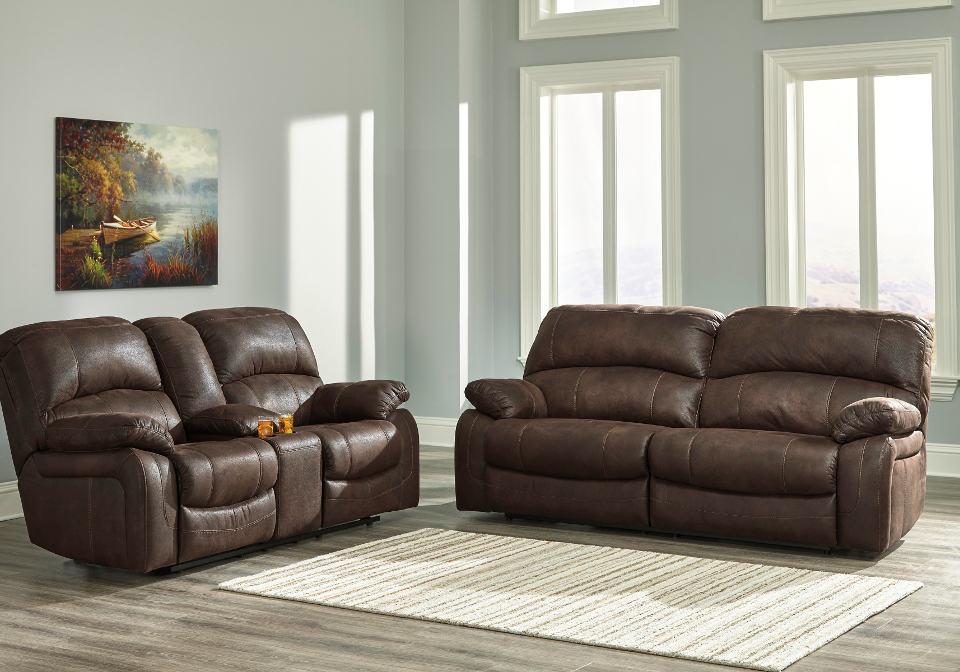 Zavier Truffle 2 Seat Reclining Sofa Set Louisville