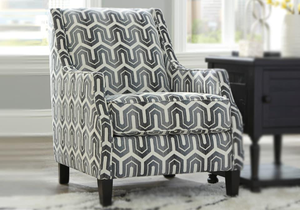 Astounding Gilmer Gunmetal Accent Chair Pdpeps Interior Chair Design Pdpepsorg