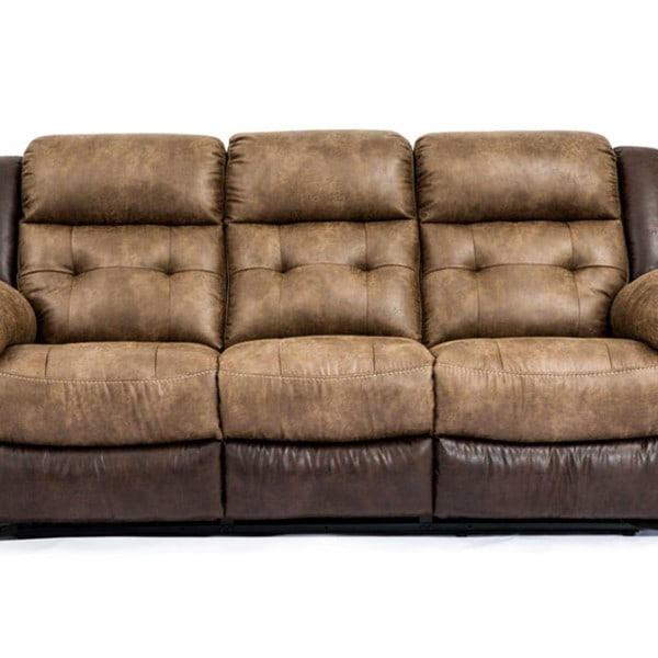 hudson bonanza silt bonanza sable reclining sofa louisville overstock warehouse furniture. Black Bedroom Furniture Sets. Home Design Ideas