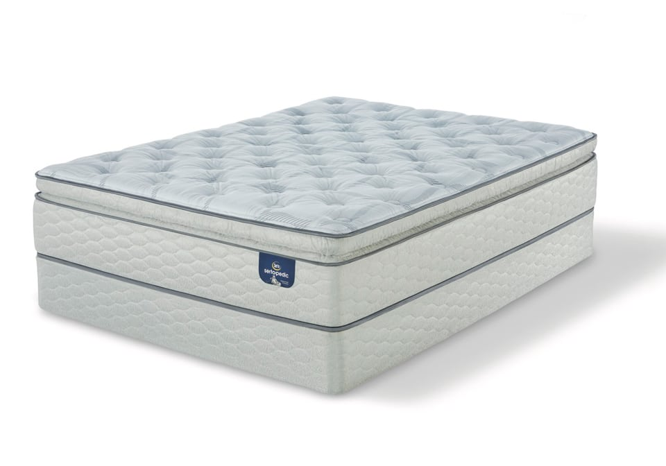 Serta Carterson Spt Firm Twin Xl Mattress Only Louisville Overstock Warehouse