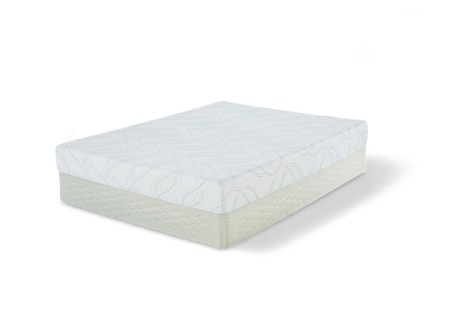 Serta Kiley Memory Foam Queen Mattress Set Louisville Overstock Warehouse