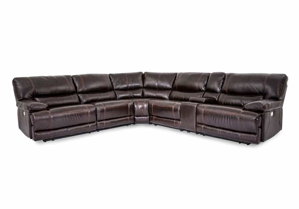 Incredible Newport Reclining Sectional Squirreltailoven Fun Painted Chair Ideas Images Squirreltailovenorg
