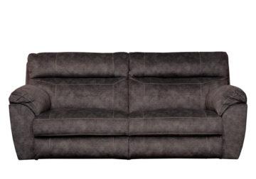 Sensational Catnapper Sedona Smoke Lay Flat Power Reclining Sofa Creativecarmelina Interior Chair Design Creativecarmelinacom