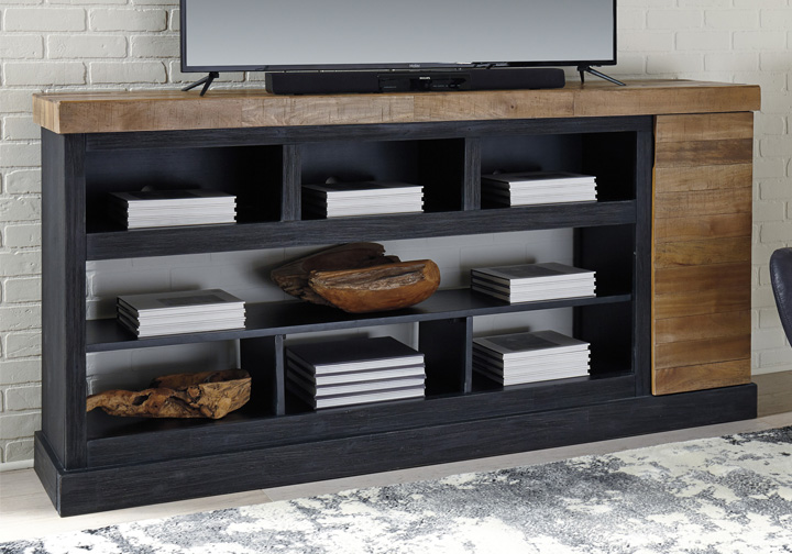 Tonnari Two Tone Brown Extra Large Tv Stand Louisville Overstock