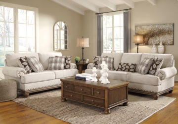 Harleson Wheat Sofa Set Louisville