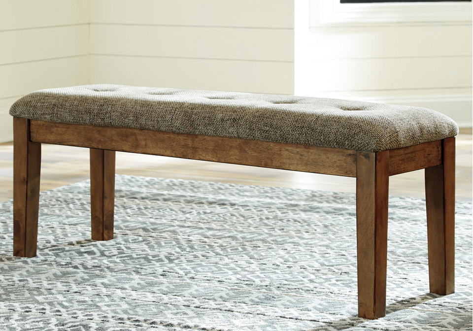 Flaybern Light Brown Dining Room Bench